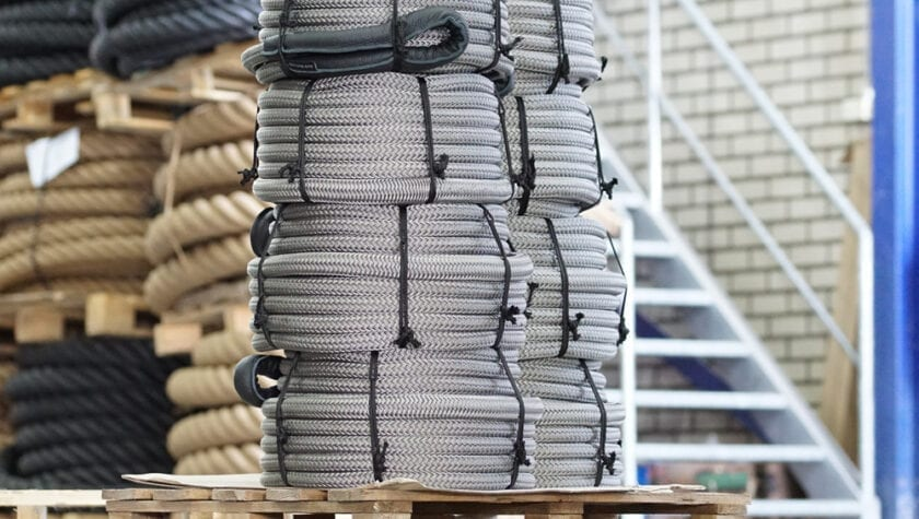 Beaufort touw Landvasten voor boot