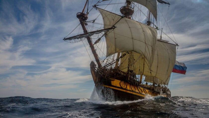 Klassiek touw scheepstouw